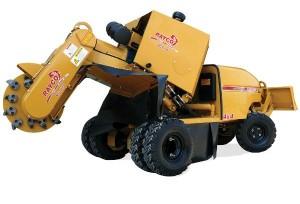 unsere neue Fräse Rayco RG1645
